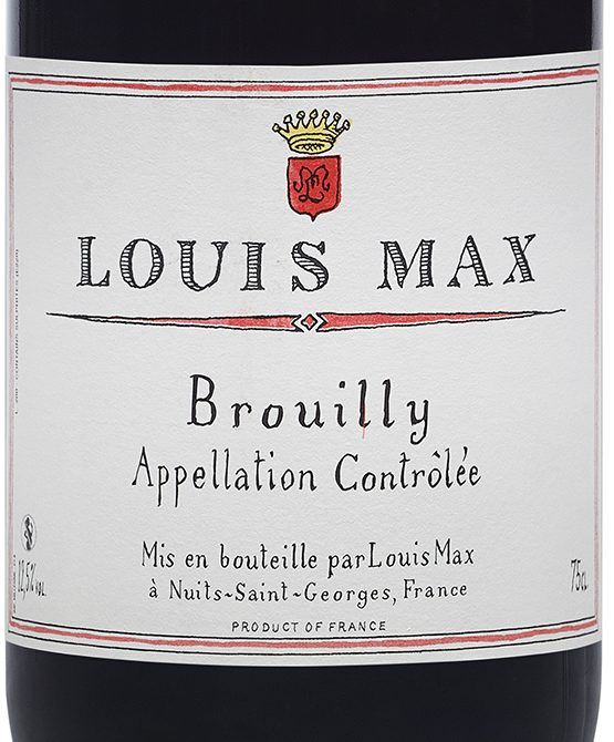 brouilly-label